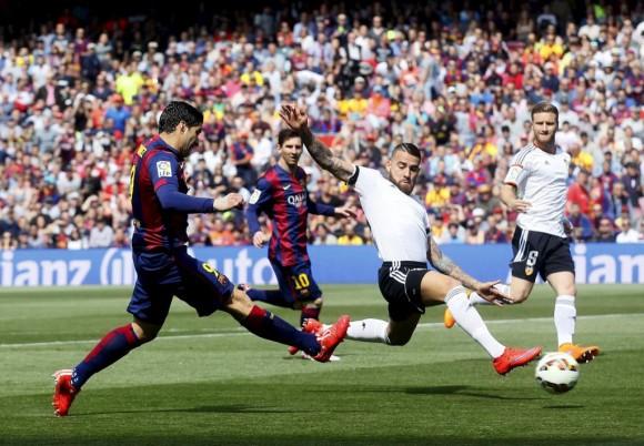Vence el Barça al Valencia 2-0.