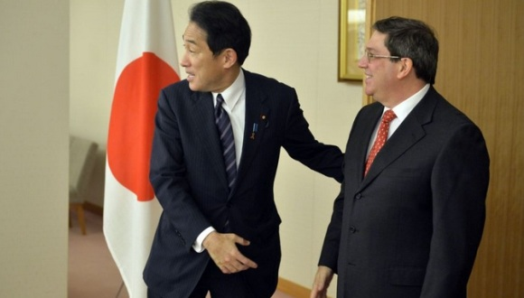 Cuba recibirá por primera vez la visita de un canciller japonés