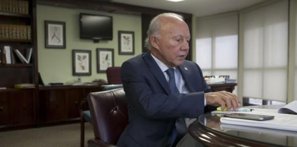 """En marzo de 2014, el secretario de Justicia, César Miranda, anunció que reactivaría """"al más alto nivel"""" las gestiones para reclamar la evidencia sobre el asesinato de Carlos Muñiz Varela. Foto: GFR Media."""