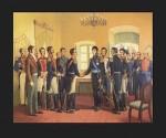 """Simón Bolívar  considero al Congreso Anfictiónico como una experiencia fallida, conclusión a la que arribó el Libertador poco después que concluyeran las sesiones, señalando: """"El Congreso de Panamá sólo será una sombra""""."""