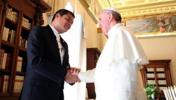 Foto: Presidencia de Ecuador/Archivo.