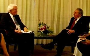 Se reunió Raúl Castro con presidente de Cámara de Comercio de EE.UU.