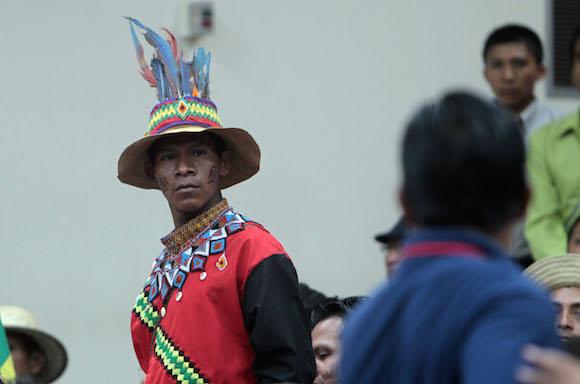 Evo Morales, presidnete de Bolivia en Cumbre de los Pueblos. Foto: Ismael Francisco/Cubadebate.