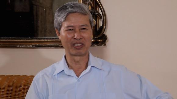 El embjador de Vietnam en Cuba.