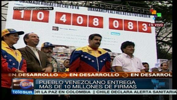 El presidente del Estado Plurinacional de Bolivia, Evo Morales, felicitó al pueblo venezolano por la unidad demostrada ante la agresión imperial de Estados Unidos.