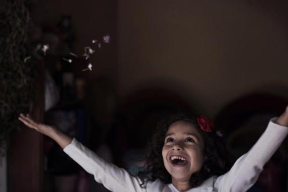 Stephanie Anjo, una británica de 14 años, vence con su imagen llamada 'dulces recuerdos'.