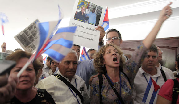 Se retira la delegación cubana de la sesión plenaria del Foro de la Sociedad Civil: Foto: Ismael Francisco/ Cubadebate