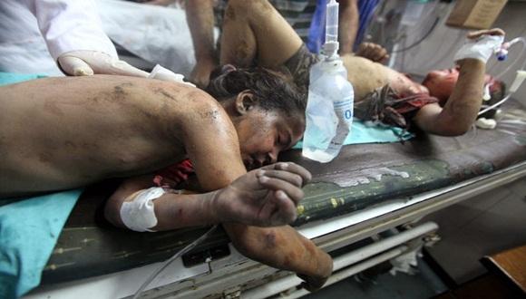 El bloqueo israelí impide las importaciones y exportaciones y con frecuencia ocasiona crisis humanitarias, afirmó el portavoz del ministerio Ashraf al Qidra. Foto: Archivo.