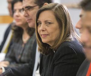 Josefina Vidal Ferreiro, Directora General de EEUU de la Cancillería cubana. Foto: Archivo.