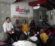 la noticia fue dada a conocer en el Álbum Kafé de Miramar