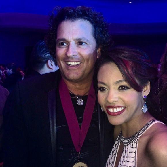 Laritza Bacallao y Carlos Vives. Foto: Facebook de Laritza Bacallao.