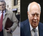Luis Bárcenas y Álvaro Lapuerta, los extesoreros del Partido Popular (PP) de España. Foto: El País.