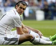 Bale se duele del gemelo de la pierna izquierda.