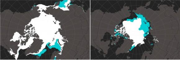mapa artico