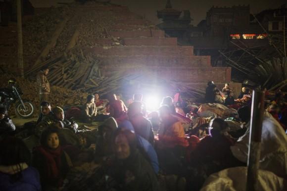 Terremoto en Nepal. Foto: The New York Times.