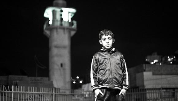 niño palestino preso en israel