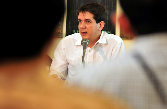 Jorge Legañoa Alonso, subdirector editorial de la AIN. Foto: Cubadebate.