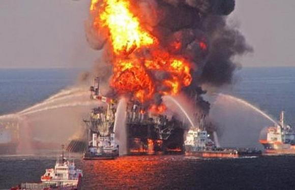 plataforma petrolera en el Golfo de México1