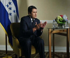 A partir de ahora, el presidente de Honduras podrá hacer campaña para repetir en el cargo. EFE / ARCHIVO.