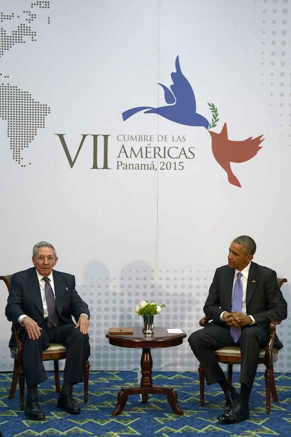 Raúl Castro y Barack Obama. Foto: Estudios Revolución