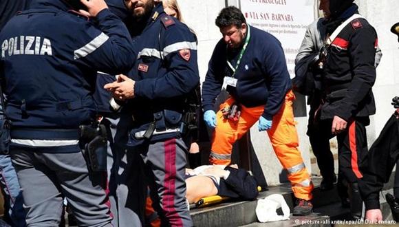 Las autoridades italianas anunciaron la captura del presunto autor del tiroteo en el Palacio de Justicia de Milán, que dejó cuatro muertos y varios heridos.