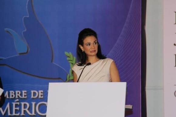 La Vicepresidenta de Panamá. Foto: Página oficial de la Cumbre.