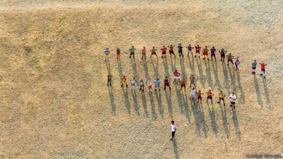 Tiempo de deportes. Foto: Marius Jovaiša.