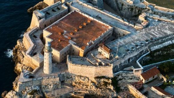 Castillo del Morro, construido por los españoles en 1589 a la entrada de La Habana para contener los ataques piratas. Foto: Marius Jovaiša.