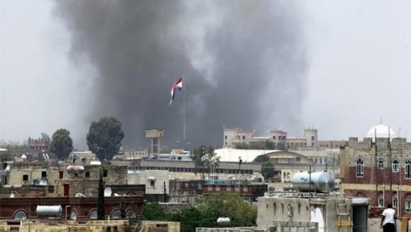Ataques en Yemén. Foto: EFE