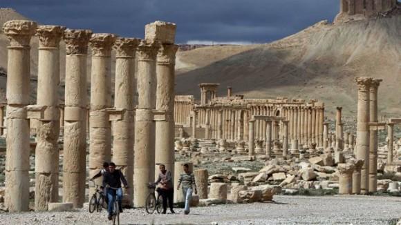 Palmira es una de las ciudades antiguas más conocidas del mundo. Foto: AFP
