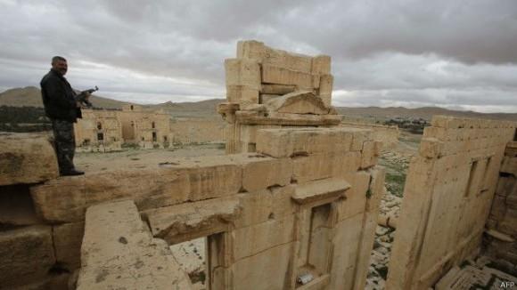 Palmira fue un centro de comercio capaz de rivalizar con cualquier ciudad del Imperio Romano. Foto: AFP