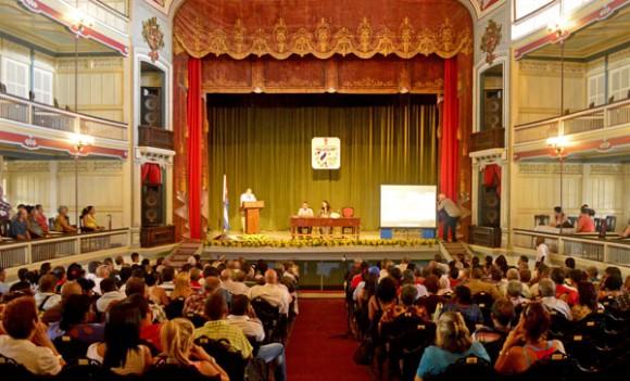 Asamblea Municipal del Poder Popular en Santa Clara