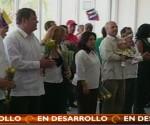 Los Cinco en Venezuela. Foto: teleSUR.