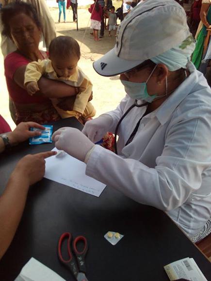 Campamento de solidaridad en Nepal10