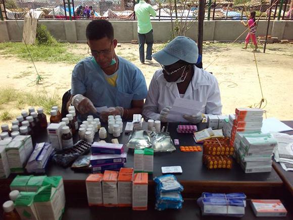 Campamento de solidaridad en Nepal7