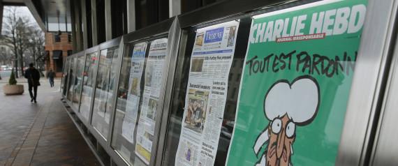 La portada del semanario francés tras el atentado de hace cuatro meses. Foto: Reuters.