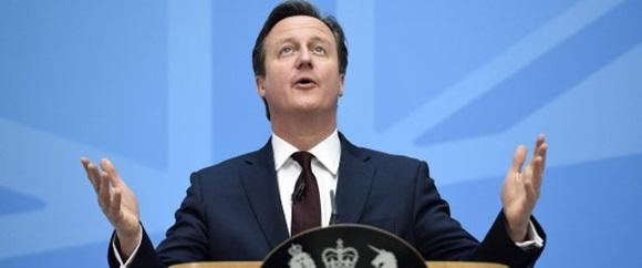 David Cameron baja su popularidad debido al escándalo Panama Papers. Foto. Archivo.