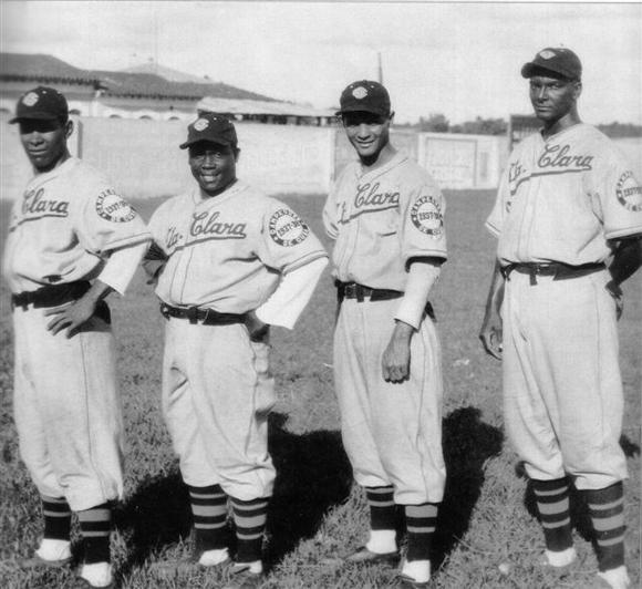 De izquierda a derecha, Tetelo Vargas, Cocaína García, Lázaro Salazar y Canguro Amaro.