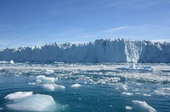Deshielo en la Antártida. Foto tomada de minutoya.com