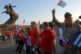 Diaz-Canel Heads May Day Celebrations in Santiago de Cuba