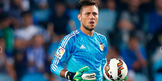 El portero Diego Alves fue una de las figuras del partido. Foto tomada de periodistadigital.com