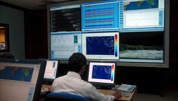El Servicio Geológico de Estados Unidos. Foto: EFE