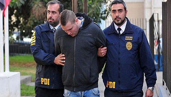 Guiseppe Briganti permanecerá bajo custodia policial hasta que la fiscalía chilena investigue los hechos. Foto: Entornointeligente