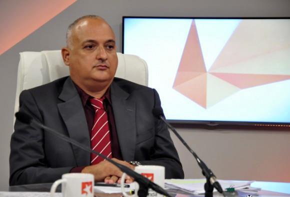 Heriberto Suárez Pereda. Foto Roberto Garaycoa- Mesa Redonda