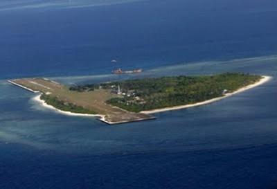 Una de las islas por donde voló el avión norteamericano. Foto tomada de nuestromar.org