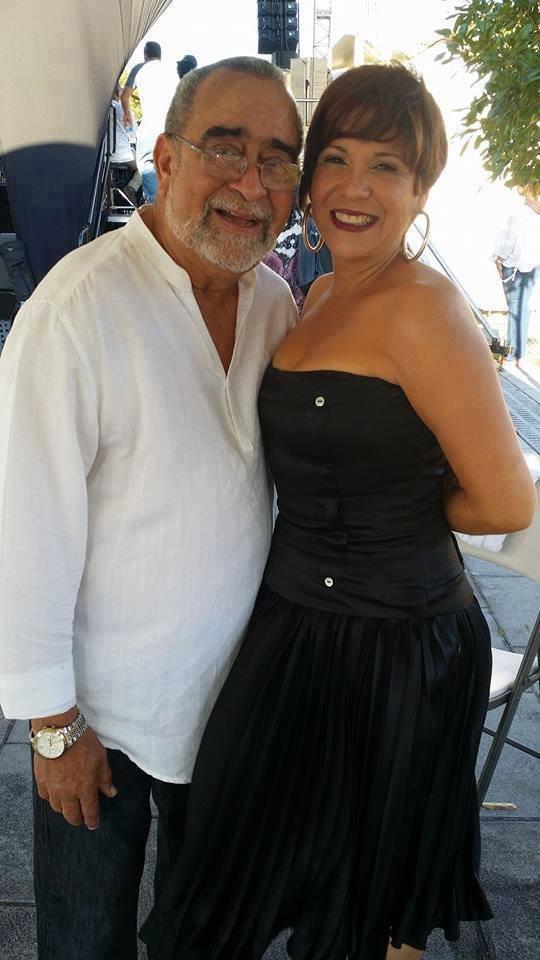 Ivette Cepeda y Andy Montañez. Foto: Tomada de Facebook