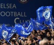 La afición del Chelsea celebra el título