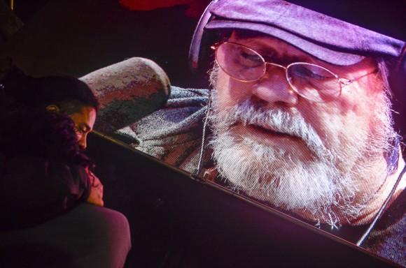 Silvio regaló concierto en barrio de Buenos Aires
