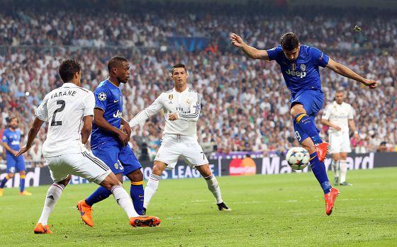El disparo de Morata que sentencia la eliminación del Madrid. Foto: A. Ruesga