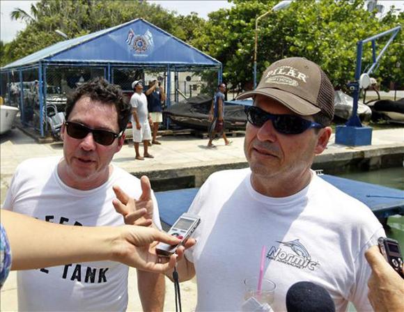 John y Patrick Hemingway visitan La Habana felices por la nueva etapa de Cuba y EEUU